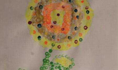 Έργα μαθητών του ομίλου: «Με τα χρώματα του λόγου και το λόγο των χρωμάτων»
